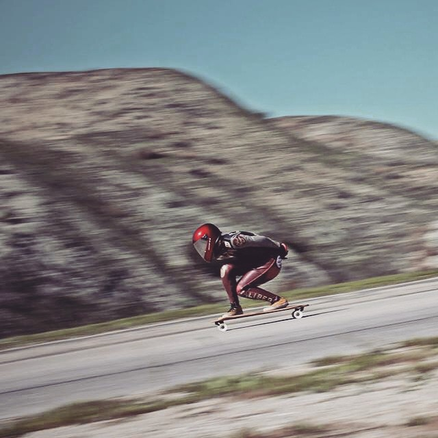 our homie @sk8namaste at the Dump Road outlaw a few weeks back. killing it girl! photo: Jeff Suchy