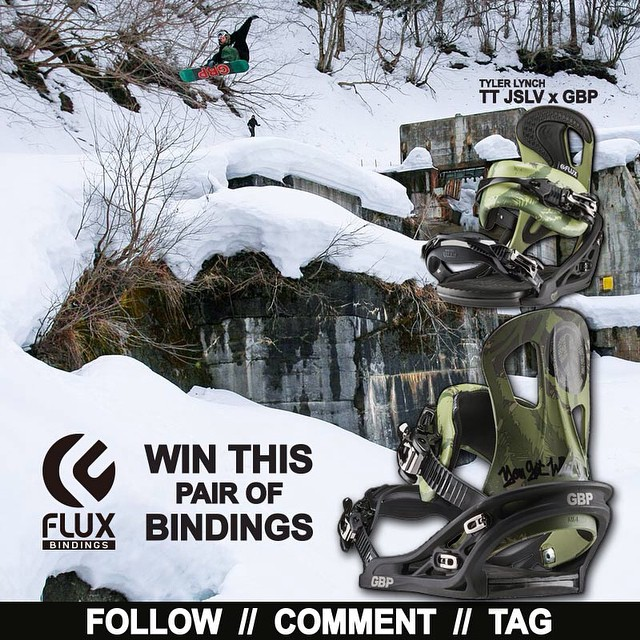WIN FLUX IS BACK! We are giving away this set of @gbpgremlinz x @jslv Bindings! To Enter: Go to @fluxbindings and FOLLOW our gram feed, make a COMMENT on our WIN FLUX post and TAG three of your friends in your comment. Two winners will be selected by...