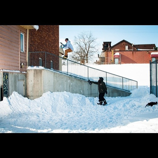 Check out @derek_mo's article in @kingsnowmag . Railslide to redirect #Regram