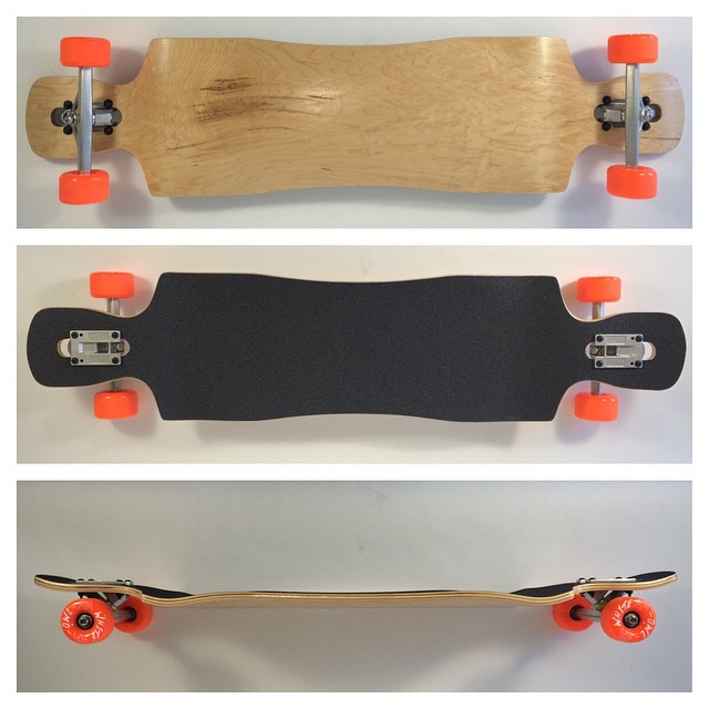 It may be cold outside but the #ltd by @churchillmfg is #hot. #complete #longboards #shipping #concretewave #skateshops #skatelife #longtrekdeck #american #maple #longboard #longboarding #getbuck #dropdown #dropthrough #doublekick #funboxdist...