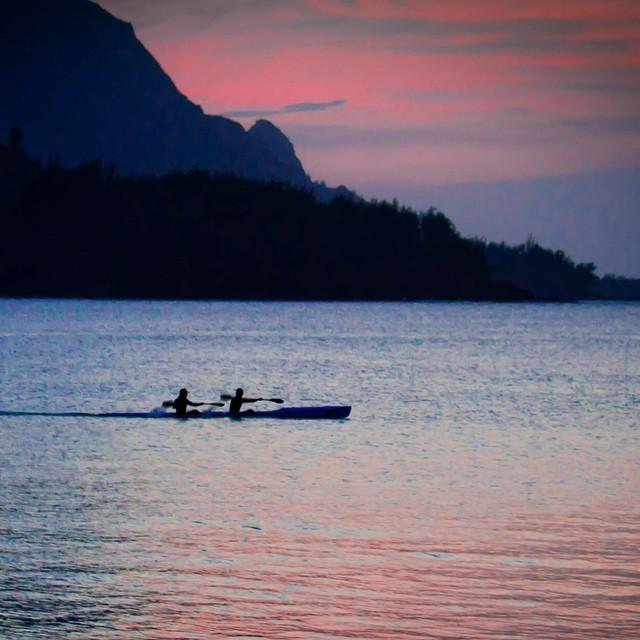Bali Hai w/ @dylanthomas of #SurfSkiKauai |