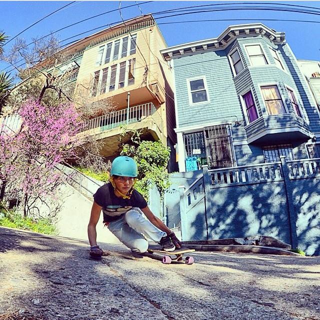 @alex_kubiak_ho_chi bellisima!!!! Shredding #SanFrancisco #keepitholesom pic @laurent_perigault