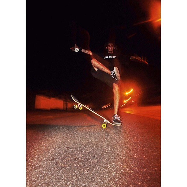 @fernandoyuppie goes hard on that tail slide and glows in the dark #keepitholesom