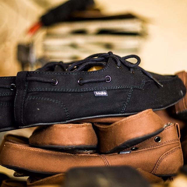 The Black Prahu...still on top☝️ #indoworkshop #PrahuBoatShoe #soleswithsoul #indo