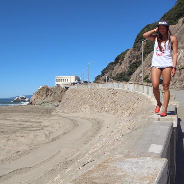 Indian Summer days w/ @summerfenton  #kelapashoe #indohat #SF #OceanBeach #soleswithsoul #goodhumancrew