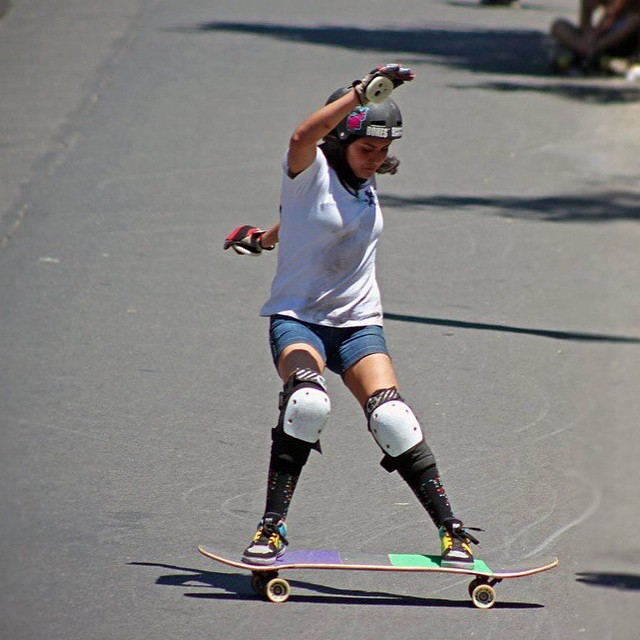 Go to www.longboardgirlscrew.com and check LGC Chile rider @jandyjando's latest edit. Chile's female scene keeps growing strong!