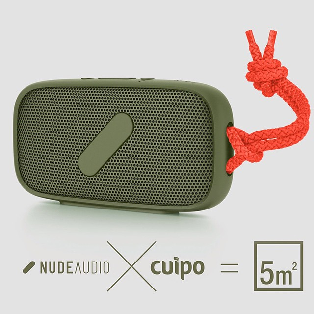 Take your music on the go and save 5 sq meters with this @NudeAudio X Cuipo #SuperM portable #bluetooth speaker! Available now at Cuipo.com #SaveRainforest #Cuipo #NudeAudio #Gadgets
