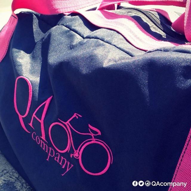 Si sos el primero en arrancar, llevá tus cosas con la misma Actitud #QuienSabedeActitud #BolsoQA #Viaje www.QA.com.ar