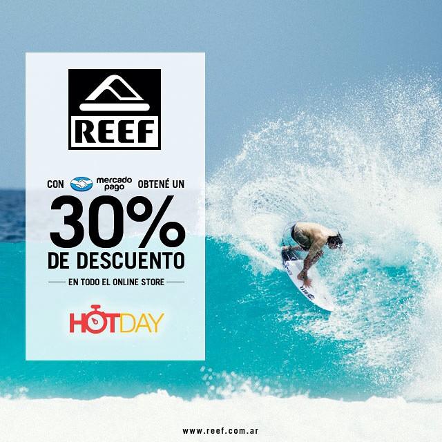 Hot sale en www.reef.com.ar