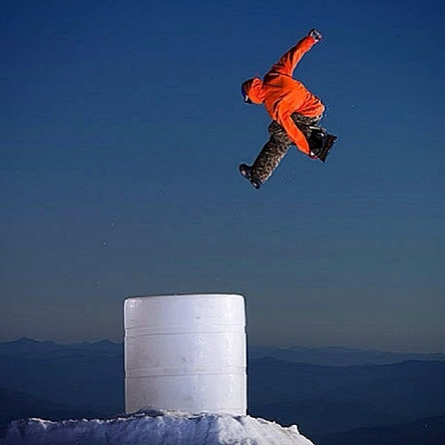 Here's a great shot of @clancy_kyle at #mthood