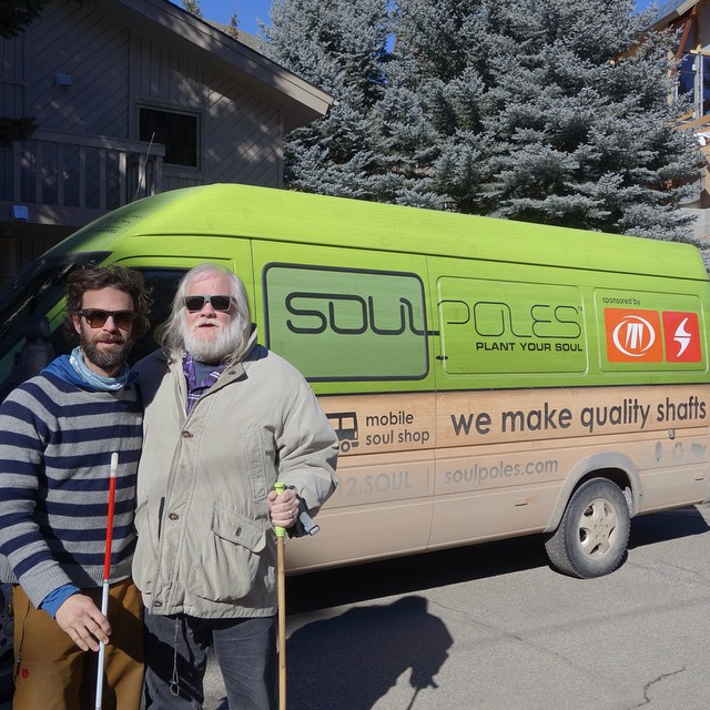 Soul is a state of mind...just ask former Allman Brothers keyboard player Johnny Neel and @soulpoles founder @bryonfriedman #plantyoursoul #soulfulsituations @tecnicablizzard