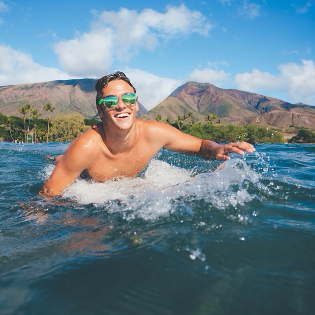 Tom's off to #Maui! Wishing him warm sun, smooth waves, and good company.  Have a favorite #hike/#beach/#surf spot on the island? Fill us in!