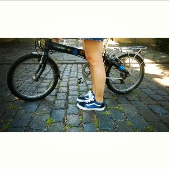 #Regram de @holapumpum  Lindo día para salir a pedalear en #OldSkool ☀️