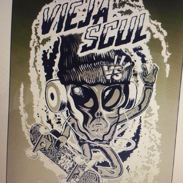 Sneak peek #winter15 #tshirt  #tee #hoodie #preview #alien #skate #ViejaScul