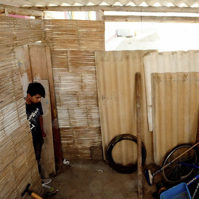 "Let's help Samuel, an #artist in #Lobitos, convert this space into a fully functioning #workshop!  From the campaign page (link in bio): ""The funds raised will be used to finish his workshop so he has a secure and clean place to design and paint his..."