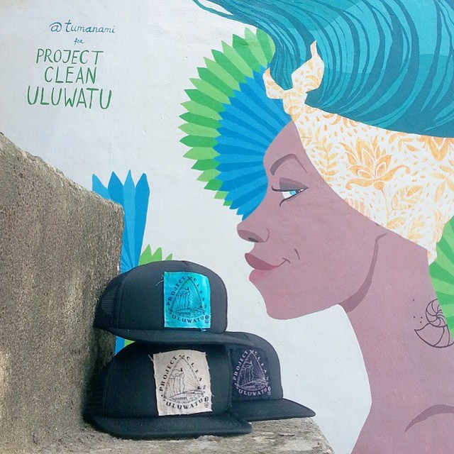 @projectcleanuluwatu collab hats are back! All proceeds go to keeping Uluwatu clean and beautiful by installing and running a waste management system for all the warungs and shops on the cliff. This prevents harmful materials from going into the ocean,...