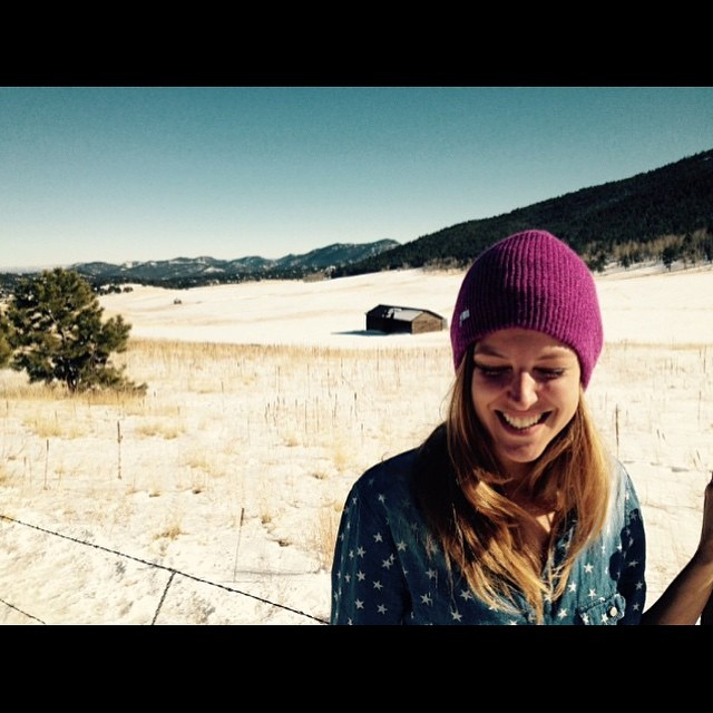 Inner peace, outer joy. @spokywoky soaks in #Colorado beauty #joy #love #life #snow #sun #travel #xsteam