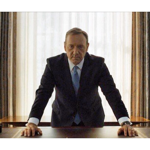 The other Mr. President. #TGIF #houseofcards @netflix