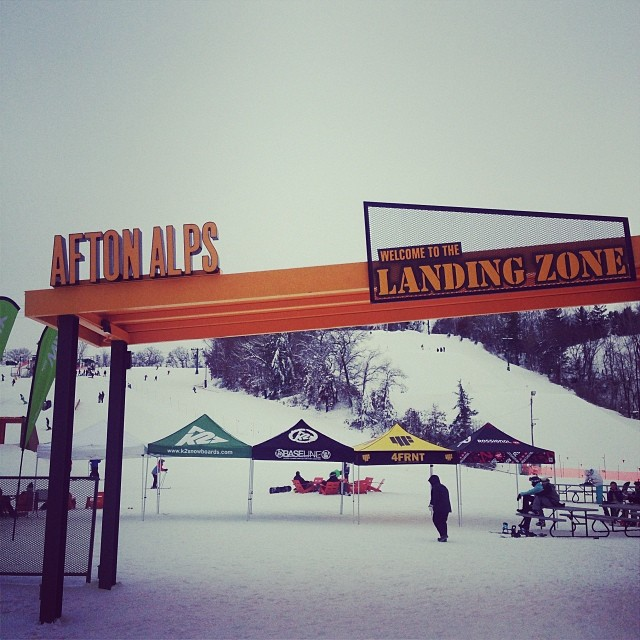 Wake up and shred Alta on a Powder Day or fly to MPLS and shred an all new Afton Alps park? Still fun after all these years out West. Great job Vail at revitalizing this Ol' stompin ground. #aftonalps