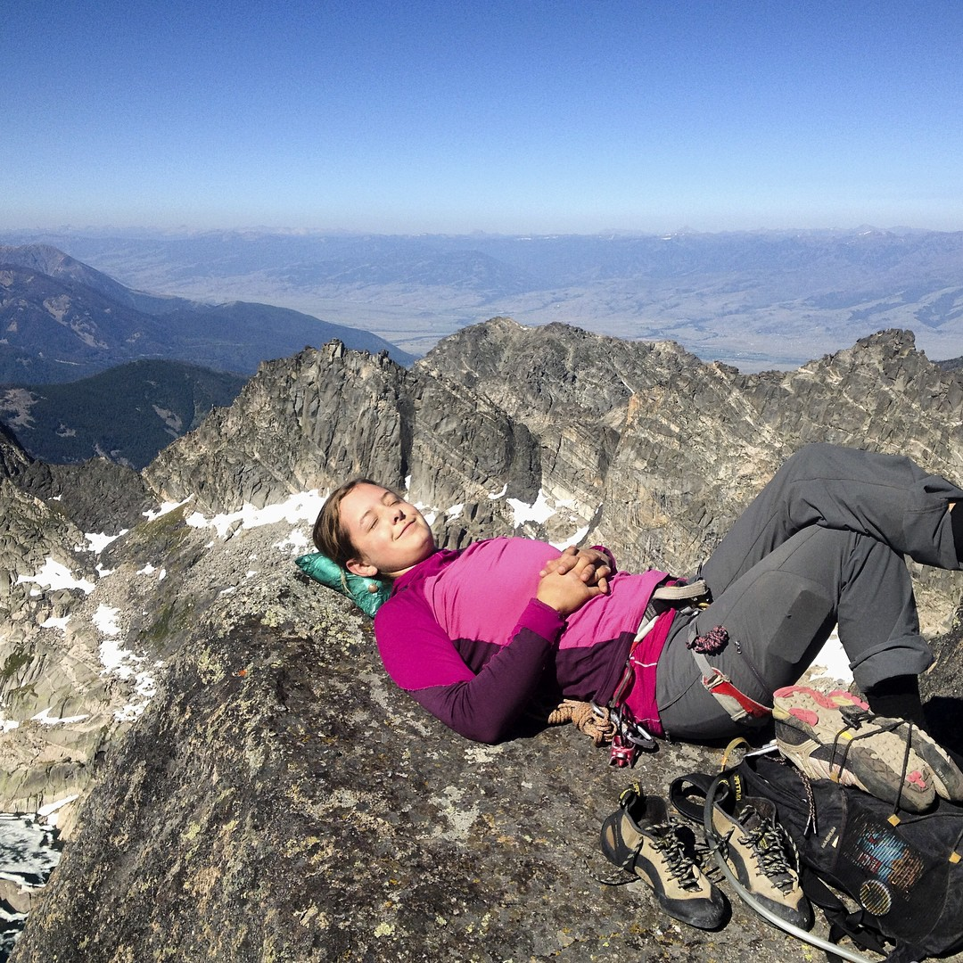 Don't just lie there. Join ASC! #adventurescience #getonup #absarokabeartoothwilderness