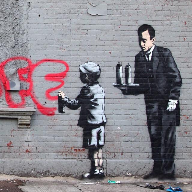 Work by @banksy.co.uk • South Bronx