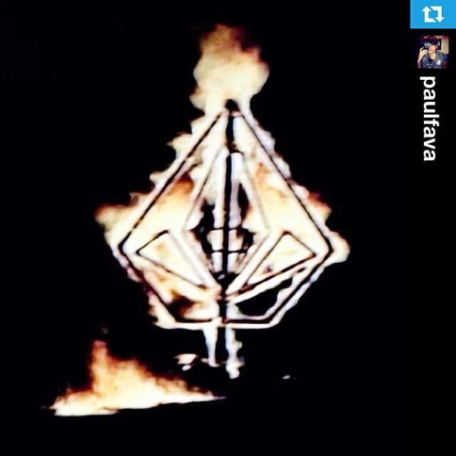 #Repost from @paulfava Volcom ON FIRE !!! apertura de la nueva Volcom House Palermo! En el blog del chico Diamante!