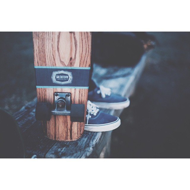 As it warms up you'll probably want an oak cruiser. #skate #oakcruiser #handmadeskateboard