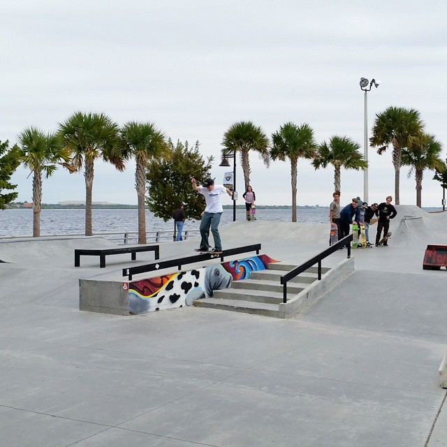 #TheBoardrAm is about to go down at Bradenton Riverwalk Skatepark!  Tampa's best will earn an invitation to compete at ❌ Games 2015.