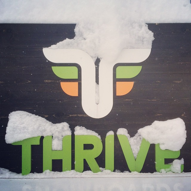 It's snowing in Tahoe! Some resorts are reporting over a foot of fresh overnight with more falling right now. #thrivesnowboards #tahoe #snowboarding #letitsnow #snowdance #prayforsnow