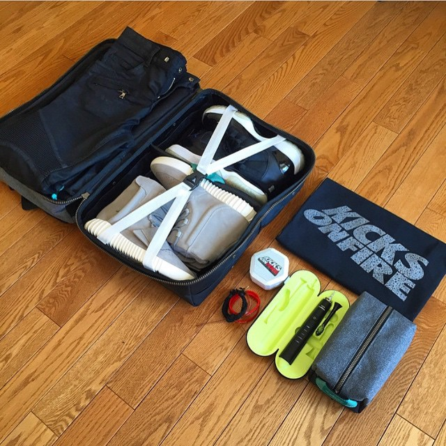 Travel Essentials provided by @kicksonfire