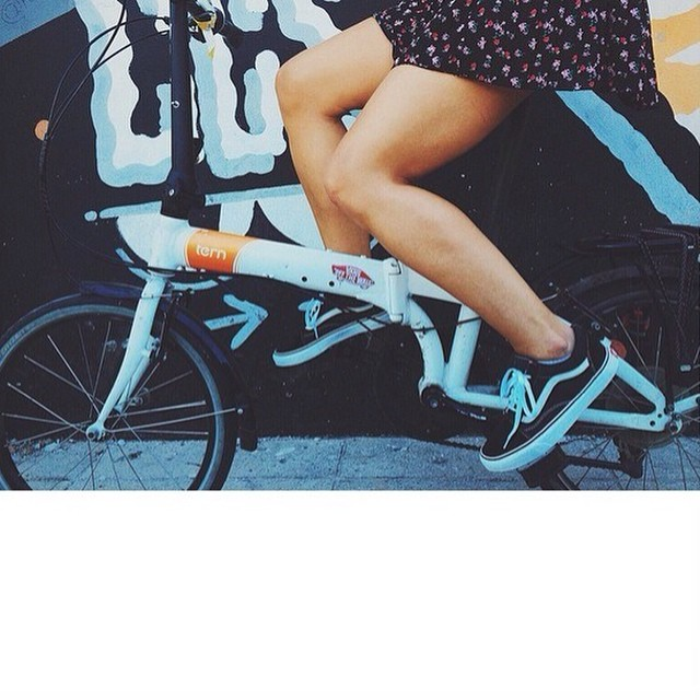 Lindo día para salir a pedalear ¿No, @vikarrieta? ☀️