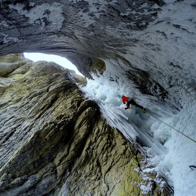Photo of the Day! Will Woodhead climbing the final pitches of Urs Hole in the Cascade Mountains. Photo by @gabatronix.  Have a photo you think is Photo of the Day worthy? Make sure to submit it for your chance at GoPro fame and maybe even a bit of...
