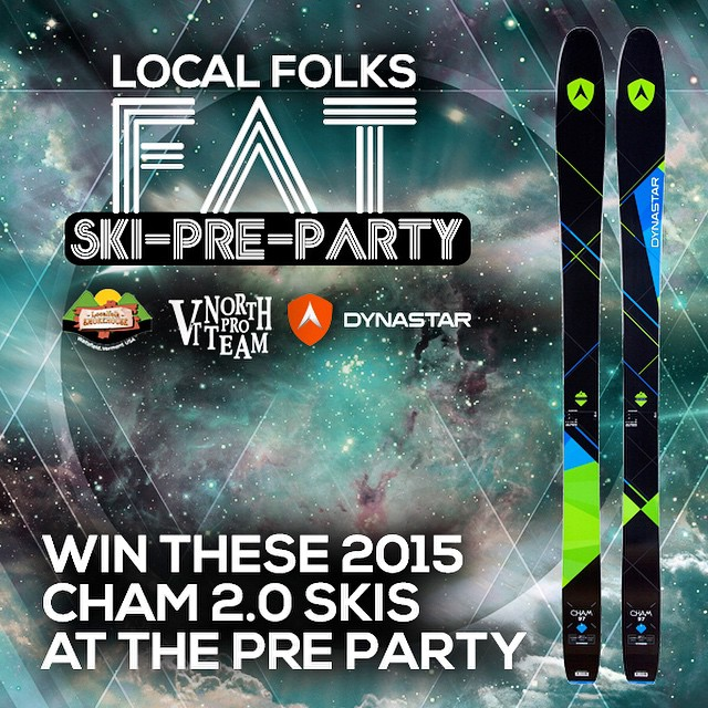 Win these tonight at the Fat Ski a Thon pre party! At the Localfolk Smokehouse in Waitsfield, VT.