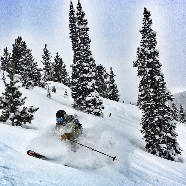 Ok... Maybe we aren't THAT terrible at it.  @mccabeski getting it this afternoon @aspensnowmass  Conditions are all time right now.