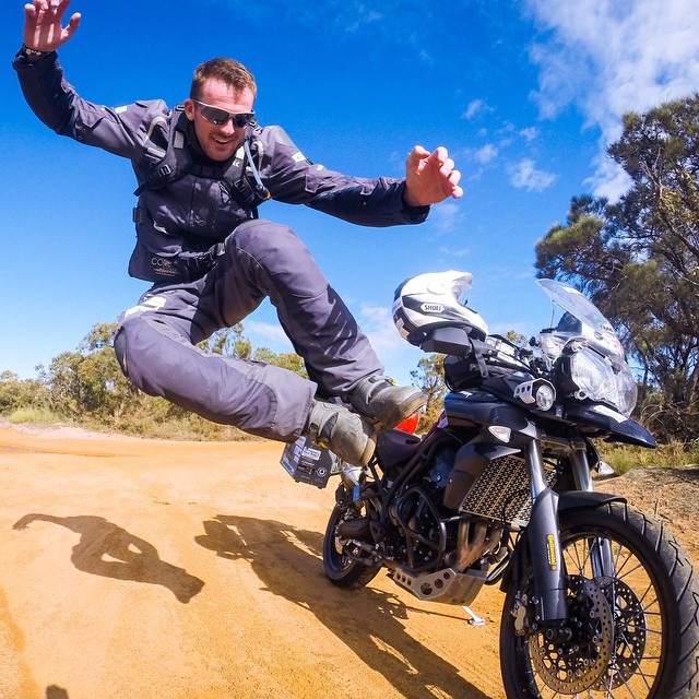 Photo of the Day! @2moroRider takes a break from riding the open roads of the Australian Outback.  Have a photo you think is Photo of the Day worthy? Make sure to submit it for your chance at GoPro fame and maybe even a bit of fortune! Gopro.com/submit