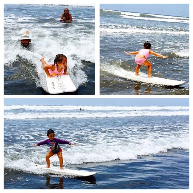 BREAKING: We interrupt our regular programming to bring you the news that the youngest Bodhi Team member, Maya Paz, has, without doubt or question, at the young age of four years old, SURFED! And not just one wave, but many!! There have been many...
