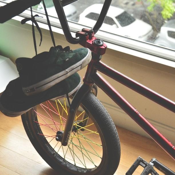 Se fue un día de lluvia #ride #bike
