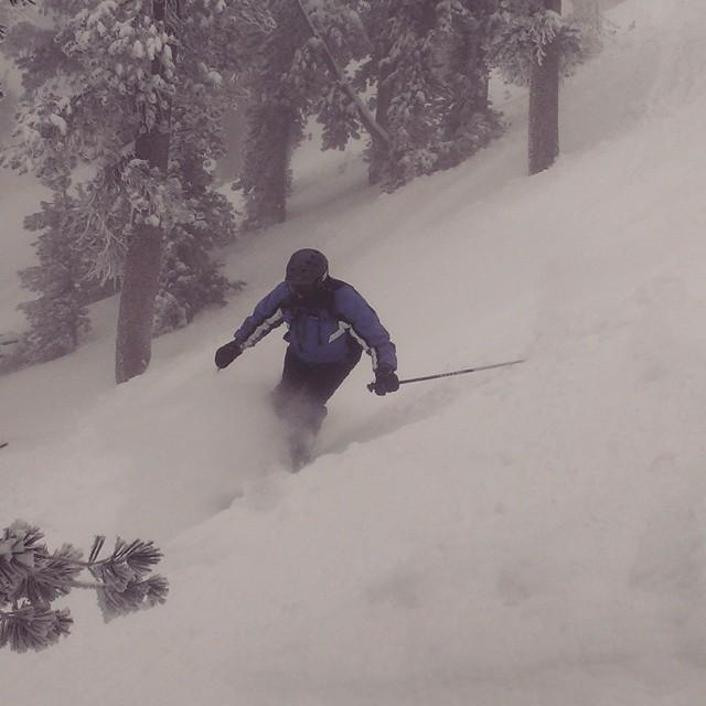 Fun day @skiheavenly #powder #freshies #wintersback #weekends #getoutdoors #graniterocx