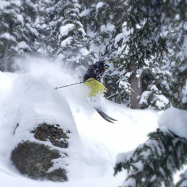 Winter is back in the western US, and southwestern Colorado is reaping the goods. Skier: @prussell8750. #dpsskis
