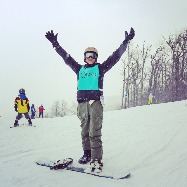 Making it down the mountain is always a #stokedmoment. What's yours? #snowmentor #proud #stokedorg