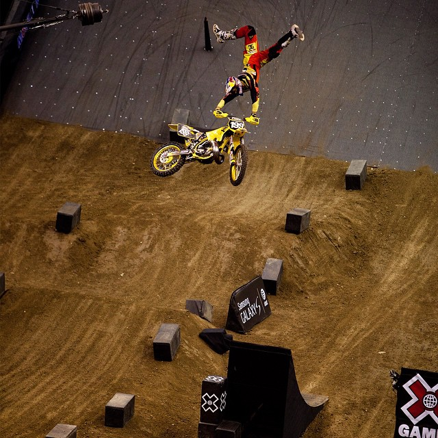 """""""My strengths and weaknesses are the same thing.  I've got the willingness, and the stupidity, to try anything!""""-@travispastrana #MondayMotivation ("""