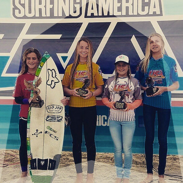 CONGRATULATIONS on being amongst the top girls on the East Coast! Luv Surf Team Rider Hannah Blevins made it to finals in U16 & U18 at SURFING AMERICA PRIME this weekend. We're STOKED! #luvsurfapparel #wearthecalidream #surflikeagirl #liveyourdreams #yew