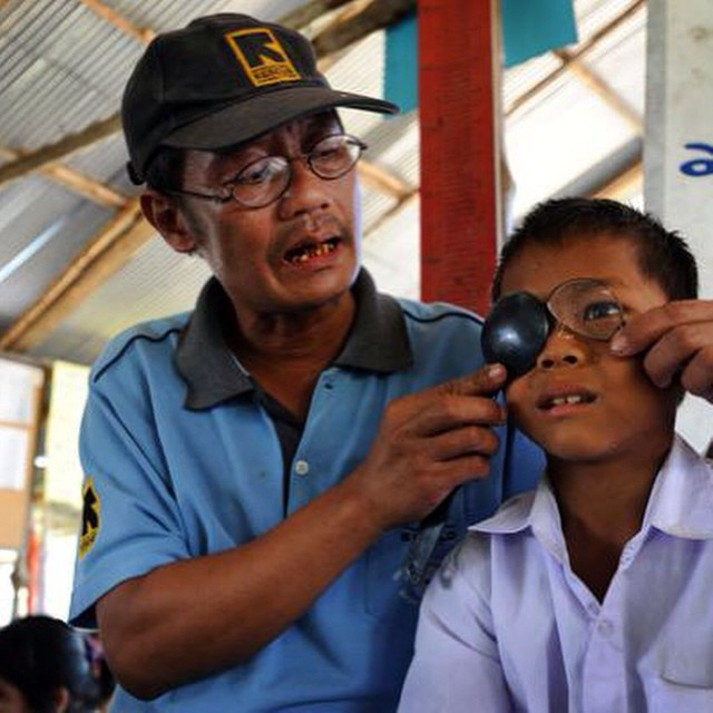 Every child deserves the right to receive eye care. Through our partnership with Restoring Vision, we are able to fund eye care for both adults and children in need.  #soloeyewear #missiontogive #makeadifference #giveback
