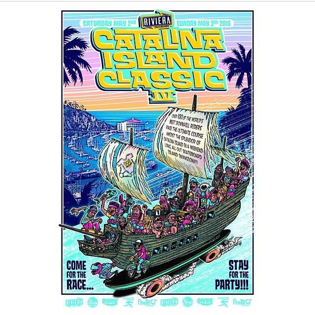 The #catalinaislandclassic2015 will be happening May 2nd-3rd and we are mega stoked for this one! It's like a mini skate invasion into the small town of Avalon - the only incorporated city on Santa Catalina Island with a population of around 3500. The...