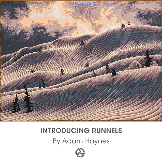 Adam Haynes aka @stickfort absolutely lit up the crowd at the Wandering Eyes premiere with this gem of a new painting entitled 'Runnels'. The original, as well as signed limited-edition prints of 'Runnels' are available now on asymbol.co Link is in our...