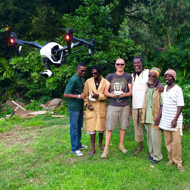 Jamaica-me-fly my drone! Our partners Freeway Drone recently flew down to Jamaica to film a documentary for a #french TV network. As a crowd formed around them, the smiles came out. #Technology has changed the way we connect and this is just one...