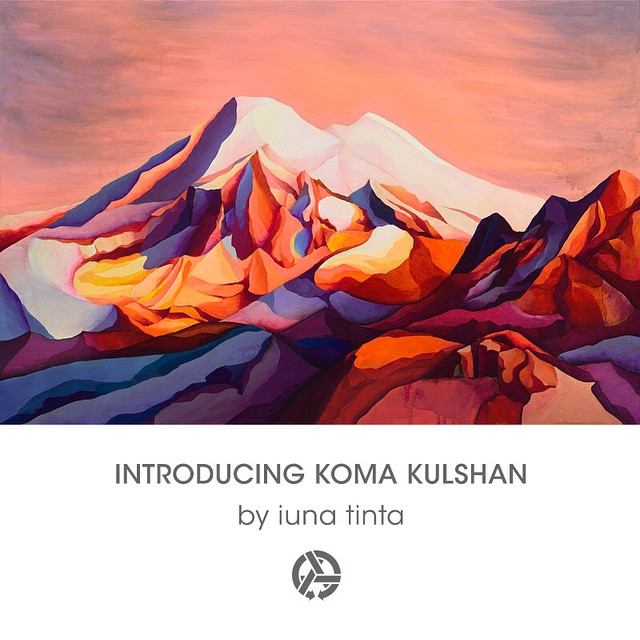 A five star stunner, Koma Kulshan by @iunatinta is live and for sale on our website as well as in person at @evoseattle until mid march.  Welcome to Asymbol @iunatinta!  #wanderingeyes #asymbolart #asymbolartists #evo #iunatinta