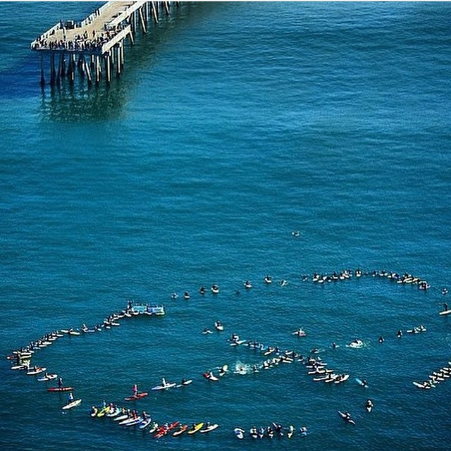 Hermosa Beach will vote today to decide if 34 Oil Wells will be placed on a 1.3acre plot of land of few blocks from this iconic beach. Surfers come together to make their statement.... Vote No on Measure O! Oil is not the answer...find another way and...