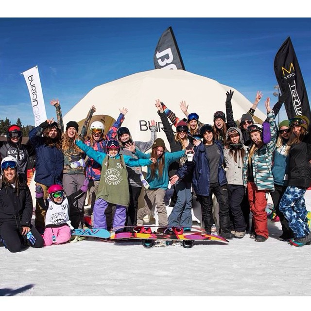 We're gearing up the B4BC educational booth for the start of the @burtonsnowboards US Open tomorrow, but we can't wait for the @BurtonGirls shred sesh with these rad ladies this Saturday!  Register for free to take some laps with the #BurtonGirls and...