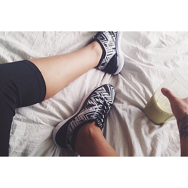 Post-workout vibes via @msbbanks. #lacesoutHICKIESin #hickiesaus